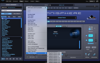 Omnisphere Tips – Resize Window (Zoom)