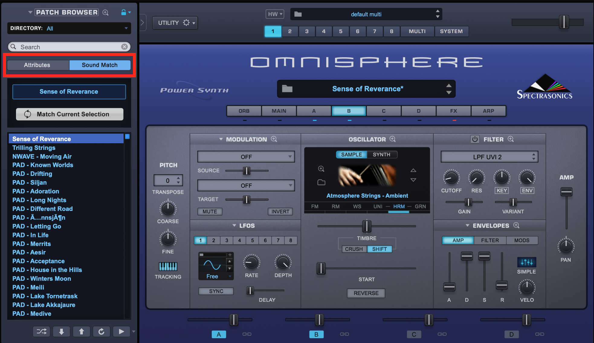 Omnisphere Tips – Sound Match