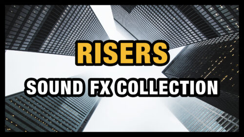 Risers Sound Effects Sample Pack